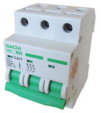 Leitungsschutzschalter GACIA SB6L 3P C20A, Sicherungsautomat MCB