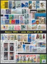 France Année 1995 complète NEUFS ** LUXE avec BF 17+18
