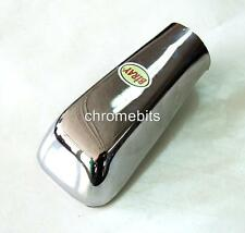UNIVERSAL CHROME EXHAUST PIPE TIP TRIM STAINLES STEEL code 214 FOR CARS AUTO