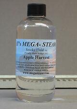 MEGA-STEAM APPLE HARVEST SMOKE FLUID SCENTED REFILL train lionel liquid 8 OZ