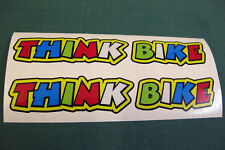 2 THINK BIKE STICKERS v010 ROSSI STYLE