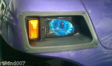 CLUB CART GOLF CART BLUE Eye's  RuKindCover's HeadLight Covers MADE IN USA