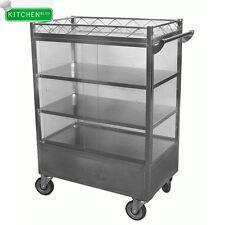 "Stainless Steel Dim Sum Cart 20""W x 36""L"