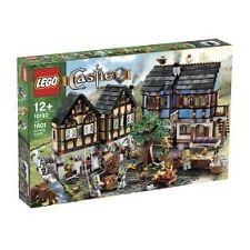 LEGO château médiéval marché village (10193)