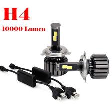 Hot 2PCS H4 9003 HB2 120W 10000LM CREE LED Headlight Kit Hi/Lo Beam Bulbs 6000K