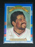 1991 Donruss Baseball PEDRO GUERRERO #25 DIAMOND KINGS St Louis Cardinals MINT