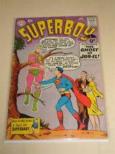 SUPERBOY #78 DC COMICS ORIGIN JANUARY 1960 G/VG (3.0)*