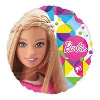 45.7cm Barbie Foil Balloon Girls Birthday Party Decorations Hanging Doll
