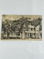 Vintage Real Photo Post Card Park Hotel Fort Myers FL 1920's? Artvue Brown Tone
