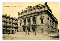 CPA 34 Herault Sète Le théâtre Municipal animé