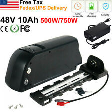 48V 10AH Lithium Battery for 500W 750W Electric Mountain E Bike Kit With Charger