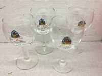 Leffe .25 CL Beer Goblets - set of four glasses