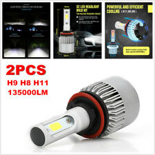 2PCS H11 135000LM LED Fog Headlight Bulbs H9 H8 6000K VS HID 35W 55W Top Sale