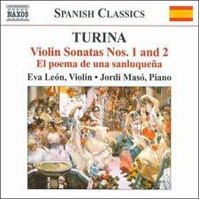Turina: Violin Sonatas Nos. 1 & 2; El poema de una sanluqueña, New Music