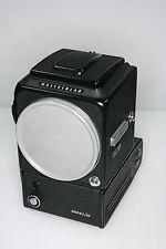 Hasselblad 500 EL/M mit Black mit Lichtschacht