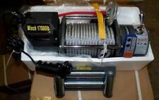 12Volt,elektrische Seilwinde,17000 lb,7727 kg .Winde,CE,Funkfernbedienung,Neu!!!