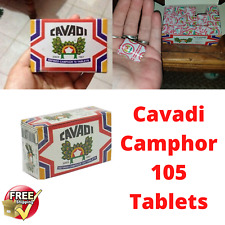 Cavadi Refined Camphor/ Tablets /flammable strong aroma ...katpooram best