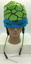 Teenage Mutant Ninja Turtles Leonardo Knit Laplander Hat with Mask OSFA