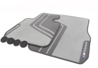 New Genuine BMW 3-Series F30 F31 F80 LHD Front Set Of M-Performance Floor Mats