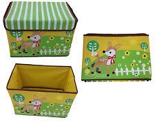 Spielzeugbox Hirsch Aufbewahrungsbox Spielzeugkiste Aufbewahrung Kindermöbel