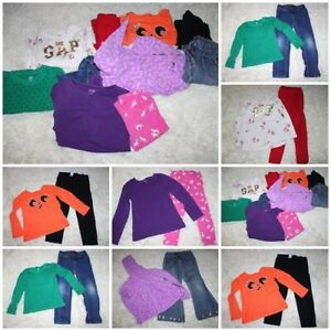 Girls clothes lot size 5 5T10 pc fall winter Back to School Gymboree Place Gap