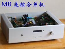 Finished HIFI MJL4281 / MJL4302 Remote Stereo Amplifier Base On MBL80 Circuit