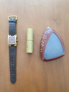 Sarah Jane Adventures - Sonic Lipstick (NON WORKING) & watch, Alien communicator