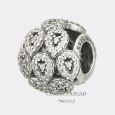 Authentic Pandora Sterling Silver Cascading Glamour Clear CZ Bead 796271CZ