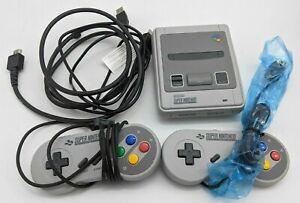 Good SNES Super Nintendo Classic Mini Entertainment System 21 Games -DS3915