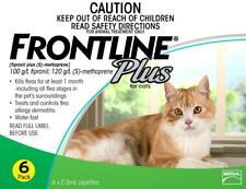 FRONTLINE Plus Flea Treatment for Cats 6 Pipettes