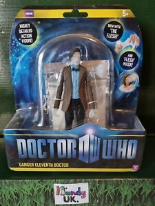 Dr Who Srs 6 'Ganger Eleventh Doctor' Action Figure with the flesh, sonic & mask