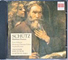 Heinrich Schütz Matthäus-Passion Dresdner Kreuzchor Peter Schreier Martin Flämig