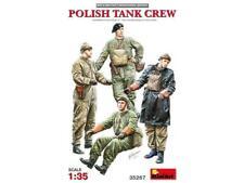 Miniart 1:35 scale WW2 Polish Tank Crew figure set