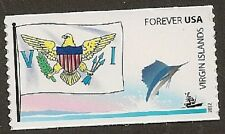 US 4326 Flags of our Nation Virgin Islands forever coil single MNH 2012