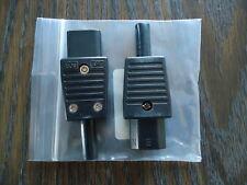 2 NEW ELCOM CONECTOR 250V, 6A.