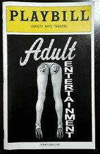 Adult Entertainment Playbill Danny Aiello Variety Arts Theatre NYC March 2003
