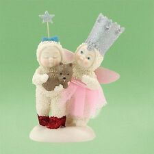 DEPT 56 SNOWBABIES WIZARD OF OZ THERE'S NO PLACE LIKE HOME DOROTHY AND GLINDA