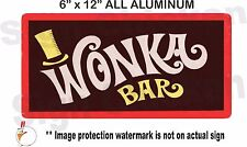 Funny Sign - WILLY WONKA, wall decor, WONKA BAR - Movie Prop, chocolate