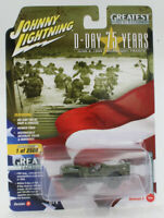 A.S.S NEU WWII Willys MB Jeep Military D-Day 75 Years 2018 Johnny Lightning 1/64