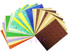 Amazing Paper set all in one Pastel Handmade printed paper (Pack of 40) A4 Size