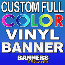 6'x6' Custom Vinyl Banner - Seamless - Rolled & Boxed - Free Shipping