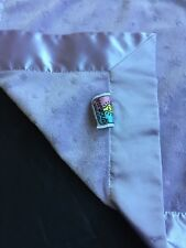 Yite Bub Lite Bulb Baby Blanket Security Lovey Satin Plush Purple