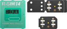 RSIM-14 RSIM 12+ Nano SIM Unlock Unlockin Card For iPhone XS Max XR X 8 7 6+ LOT