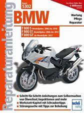 BMW F 800 S ST GT ab 2006 Reparaturanleitung Reparaturbuch Reparatur-Handbuch