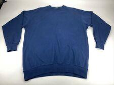 Vintage Fred Perry Small Logo Fleece Sweatshirt Jumper Blue M 4330 Size Large L