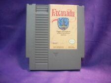 FAXANADU VIDEO GAME CARTRIDGE (Nintendo Entertainment System) NES Fantasy RPG