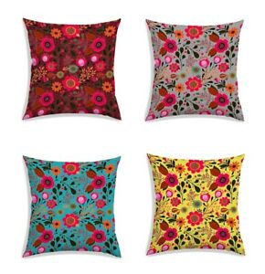 Beautiful 7 Colors Polyester Coshion Cover Soft Sofa Home Décor Pillowcase