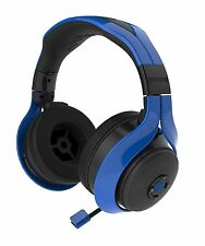 Gioteck Fl-300 Wired Stereo Headset With Removable Bluetooth Speakers Blue