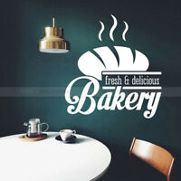 Bakery Shop Fresh Delicious Bread Store Vinyl Wall Sticker Decal Kitchen Quote