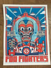 FOO FIGHTERS POP UP POSTER MSG NYC JONES BEACH #/300 SOLDOUT
